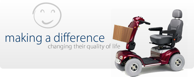 Making a difference – changing their quality of life