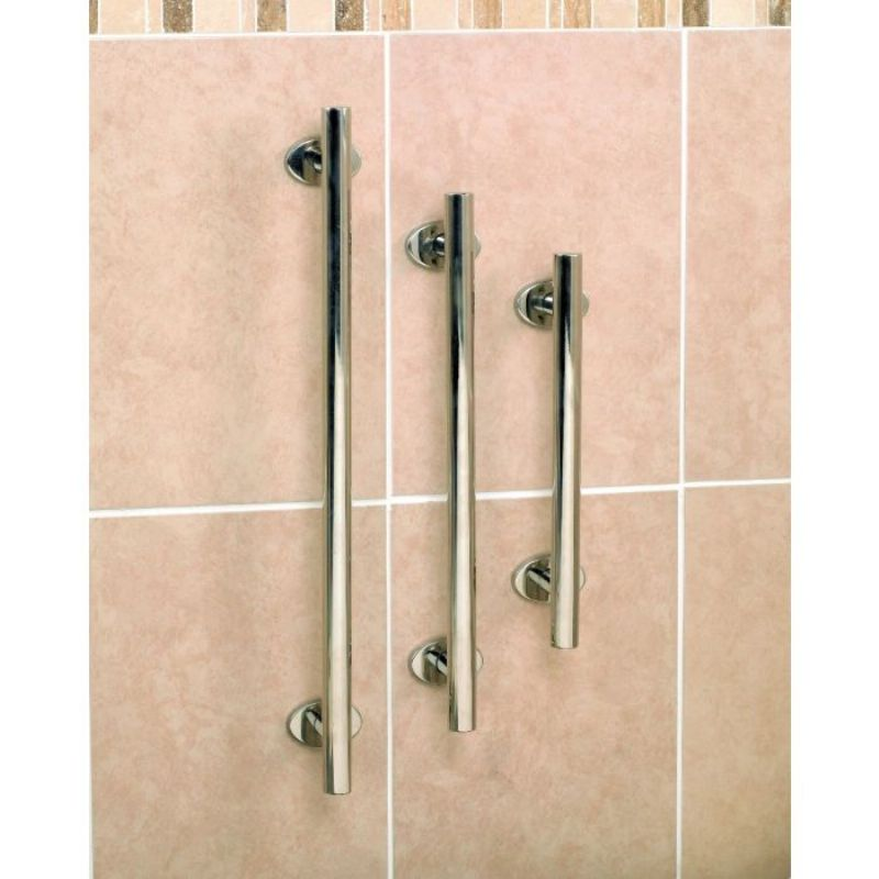 Polished Stainless Steel Grab Rail