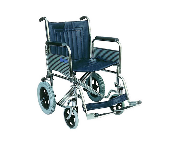 Heavy Duty Transit Steel Wheelchair