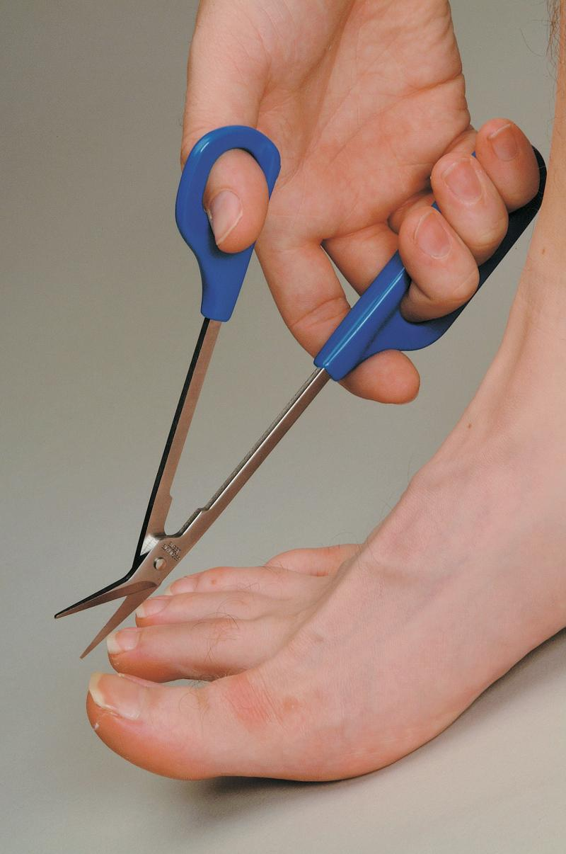 Long Handled - Toenail Scissors