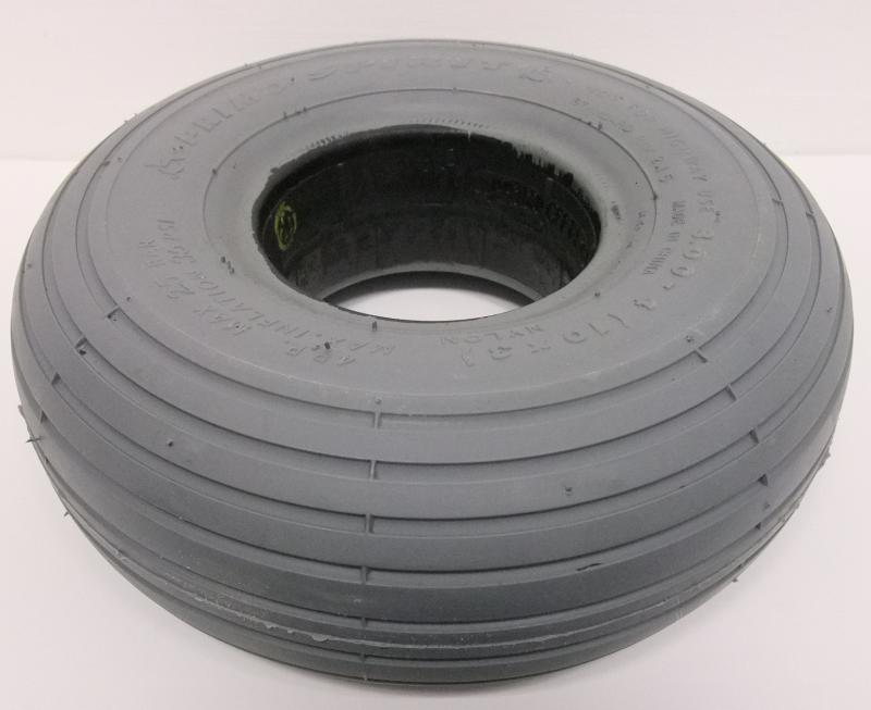 Tyre - Solid (Ribbed) 260 x 85