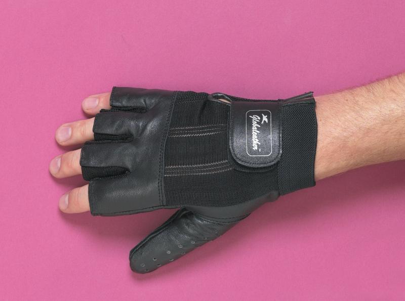Super Grip wheelchair Gloves - Open Finger