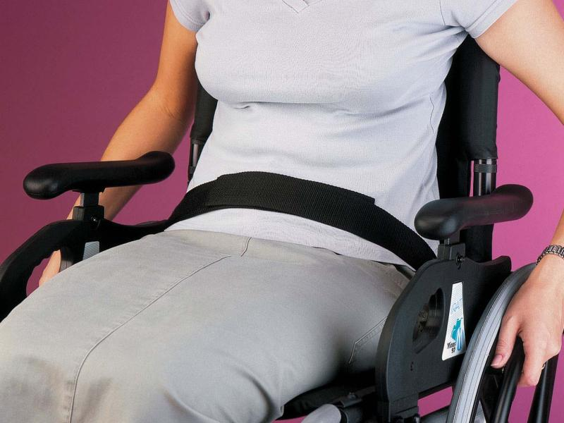 Safety Wheelchair Belt - Velcro