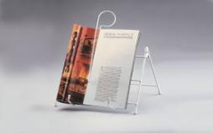 Folding Book and Magazine Stand