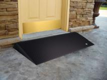 Ramp - Bevelled Rubber Threshold