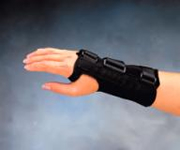 Comfort Cool D-ring Wrist Splint - Left